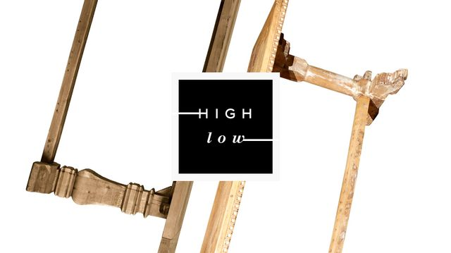 High Low: Trestle Tables