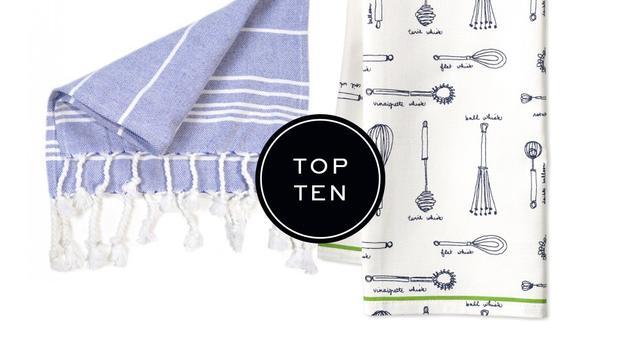 Top 10: Tea Towels