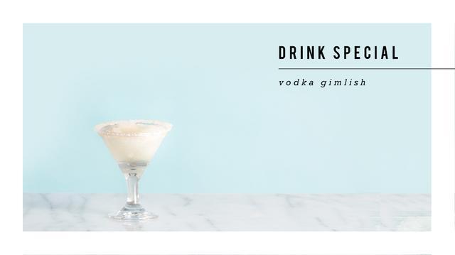Drink Me: Vodka Gimlish