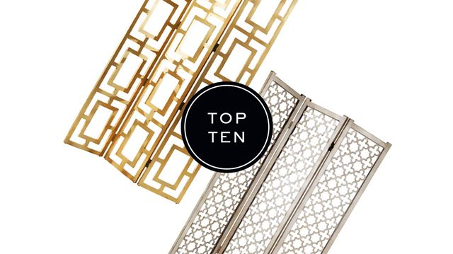 Top 10: Folding Screens