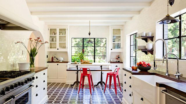Shop the Room: Patterned Pro Kitchen