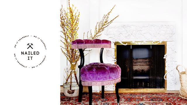 DIY: McQueen Fireplace