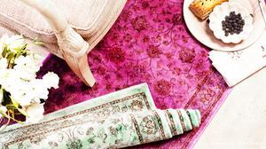 DIY: Dip Dyed Rug