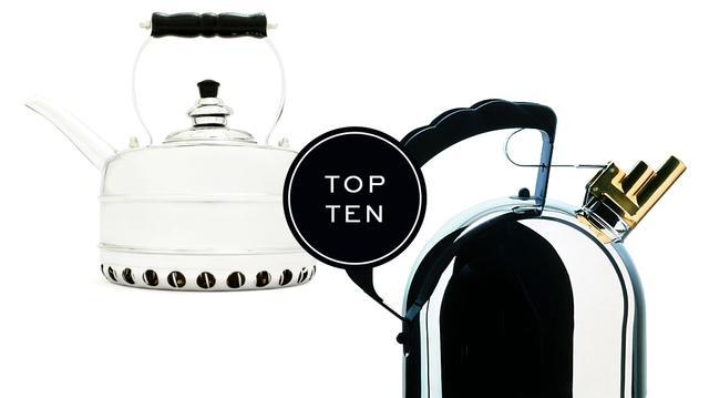 Top 10: Tea Kettles