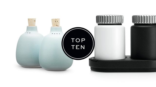 Top Ten: Salt & Pepper Shakers