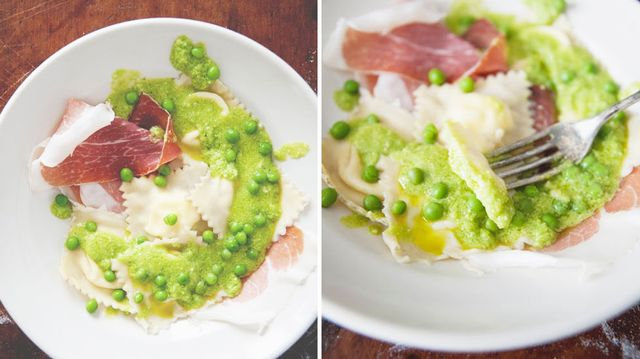 Recipe of the Week: Burrata Ravioli