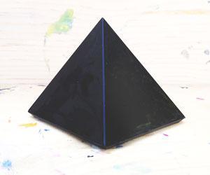 Obsidian Pyramid Crystal