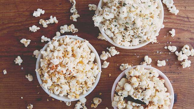 Recipe of the Week: Popcorn Three Ways