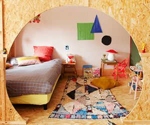 A Colourful, Crafted Home