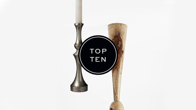 Top Ten: Candleholders