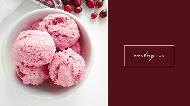 Jessica Biel's Holiday Specialty: Cranberry Ice
