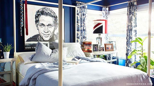 Home Tour: An Americana Bachelor Pad in the Hollywood Hills