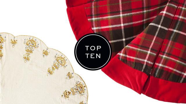 Top 10: Christmas Tree Skirts