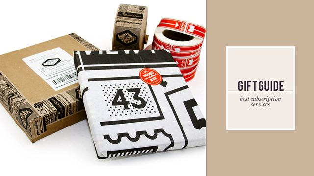 The Gifts That Keep On Giving: Best Subscription Services