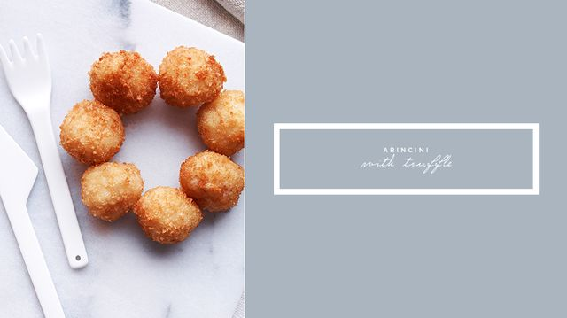 Arincini With Truffle