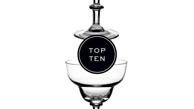 Top 10: Champagne Coupes and Flutes