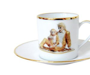 Tabletop Art: Jeff Koons Teacups