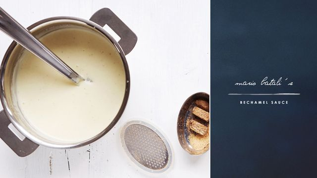 Mario Batali's Bechamel Sauce