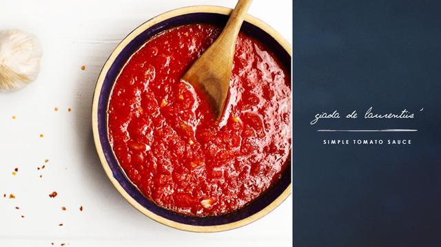 Giada De Laurentiis' Simple Tomato Sauce