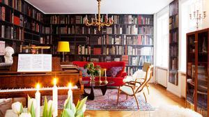 Home Tour: An Intellect's Glamorous Swedish Flat