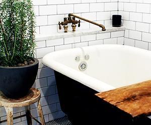 Look We're Loving: Masculine Bathrooms