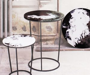 Breathtaking Tabletops Made With the Strangest Technique