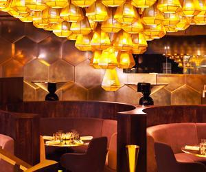 Tour Designer Tom Dixon's Brass Brasserie