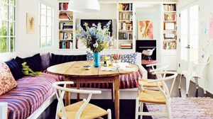 Amanda Peet's Perfectly Imperfect Breakfast Nook