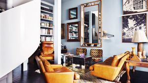Home Tour: A Spanish Painter's Stately Masculine Loft