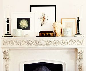 3 Ideas for Styling a Mantlepiece