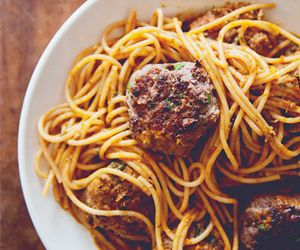 Not Your Grandma's Spaghetti and Meatballs