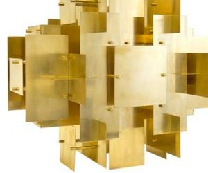 Must Have: Brass Puzzle Chandelier