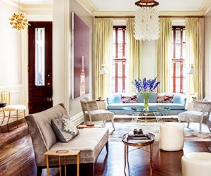 A Classic Upper East Side Townhouse Gets a Funky Update