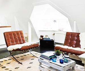 A Teeny Swedish Studio With Major Style