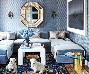 All That Shimmers: A Dazzling Chicago Apartment From a Design Great