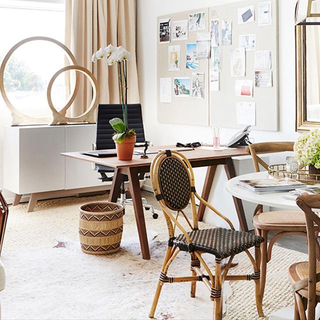 Total Makeover: Inside Katherine Power's Elegant New Office
