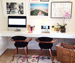 3 Seriously Stylish At-Home Startup Offices