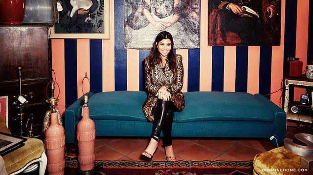 Kourtney Kardashian Talks Branching Off Into Interior Design and Spills Details on Her New Home