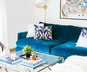 Inside a Small Apartment Brimming With Chic DIY Style