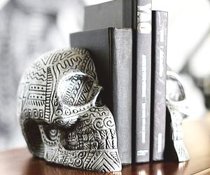 Skull Candy: Artist Zio Ziegler's PB Teen Bookends
