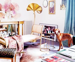 Tour a Fashion Designer's Feminine Spanish Abode