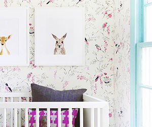 Take a Peek Inside a Nursery Made for a Future Fashionista