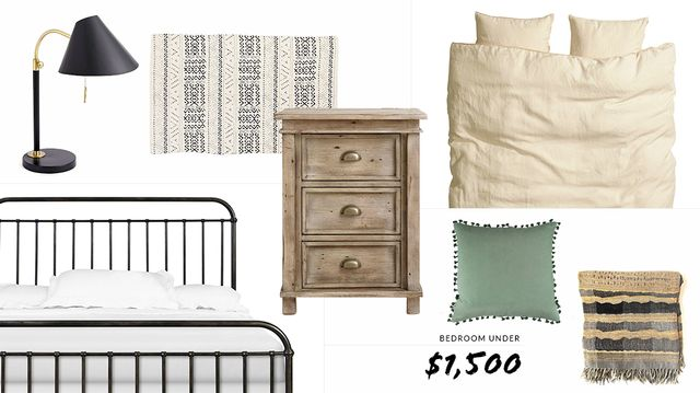 How to Completely Make Over Your Bedroom For Under $1,500