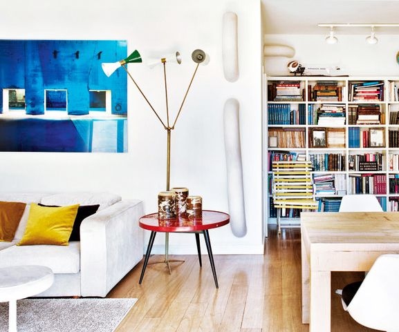 Barcelona Apartments: Tour A Trendy Barcelona Apartment Full Of Light
