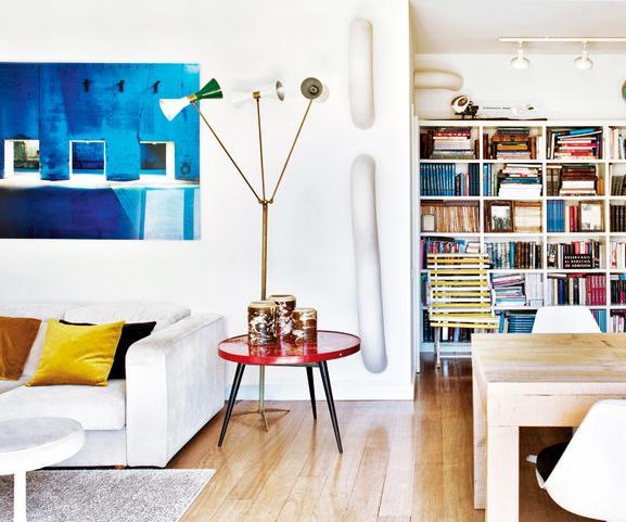 Tour a Trendy Barcelona Apartment Full of Light