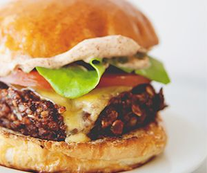 A Chipotle Veggie Burger That Even Carnivores Will Love