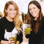 Lauren Conrad and Hannah Skvarla